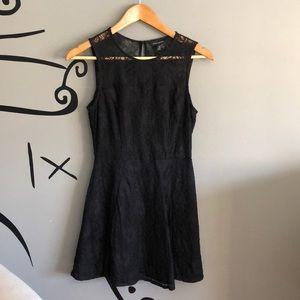 Little black lace dress